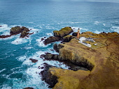 Stunning Aerial Photograph of the Butt of Lewis Lighthouse on the Isle of Lewis, Scotland Jason Baxter /Scottish Viewpoint aerial,aerial photograph,atlantic,beauty,coast,coastal,coastline,dramatic,drone,geography,geology,isle of lewis,light-house,lighthouse,outer hebrides,peninsula,remote,rocky,rugged,rugged coastline,sce