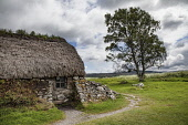 Leanach Cottage, Culloden Battlefield, Highlands Bill McKenzie/Scottish Viewpoint Culloden,battlefield,thatched,cottage,house,cottages,houses,nobody