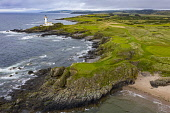 General aerial views of Trump Turnberry Golf Club and Hotel on the Ayrshire coast, Scotland, UK Iain Masterton /Scottish Viewpoint Scotland,scottish,Turnberry,trump turnberry golf course,golf club,aerial view,drone image,daytime,UK,United Kingdom,Britain,british,Scottish golf course,scottish golf club,luxury,exclusive,Ayrshire,fr