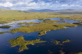 Aerial view of Loch Ba on Rannoch Moor in summer, Scotland, UK Iain Masterton /Scottish Viewpoint Rannoch Moor Scotland,Scotland Rannoch Moor,Loch Ba,Scotland,Scottish,travel,tourism,scottish tourism,aerial view,image,drone view,looking down,from above,moorland,remote,scenery,landscape,scottish la