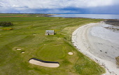 Aerial view of Balcomie Links golf course at Crail Golfing Society golf course, Fife, Scotland,UK Iain Masterton /Scottish Viewpoint Crail golf Course,Balcomie Links golf course,Crail golfing society,East neuk fife,Crailgolf club,Fife,Scotland,Scottish golf course,links golf course,aerial,drone image,daytime,UK,United Kingdom,brita