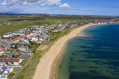 Aerial view of villages of Earlsferry and Elie in East Neuk of Fife, Scotland, UK Iain Masterton /Scottish Viewpoint Earlsferry,Elie,Scotland,East Neuk Fife,Scottish vilage,coast,coastal,seafront,firth of forth,community,aerial view,drone image,UK,United Kingdom,britain,british,travel,tourism,Fife village,daytime,vi