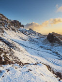 View on the Quiraing in winter, Isle of Skye, Scotland Allan Coutts  /Scottish Viewpoint breathtaking,cold,famous,hebridean,hebrides,isle of skye,landmark,landscape,morning,mountain,mountains,outdoors,path,photography,picturesque,quiraing,rock,rocks,rugged,scene,scenery,scenic,scotland,sn