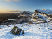 Trotternish ridge from the Quiraing in winter, Isle of Skye, Scotland Allan Coutts  /Scottish Viewpoint breathtaking,cold,famous,hebridean,hebrides,isle of skye,landmark,landscape,morning,mountain,mountains,outdoors,path,photography,picturesque,quiraing,rock,rocks,rugged,scene,scenery,scenic,scotland,sn
