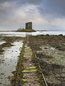 Castle Stalker Allan Coutts  /Scottish Viewpoint Appin,Argyll,Argyll and Bute,Castle Aaaargh,Castle Stalker,Monty Python,Monty Python and the Holy Grail,Port Appin,architectural,atmosphere,attraction,building,castle,clouds,coast,coastal,color,colorf