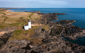 Aerial view of lighthouse at Elie on the East Neuk of Fife, in Scotland, UK Iain Masterton /Scottish Viewpoint Elie,Elie Scotland,Scotland,Elie Fife,Fife Elie,East Neuk of Fife elie,Lighthouse Elie,Elie Lighthouse,daytime,village,coast,coastal village,UK,United Kingdom,britain,british,travel tourism,villages,s